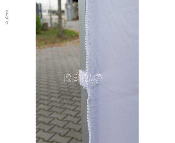 Pared lateral para pabellón de carpas 90542 90545 3x3m blanco con ventana 5