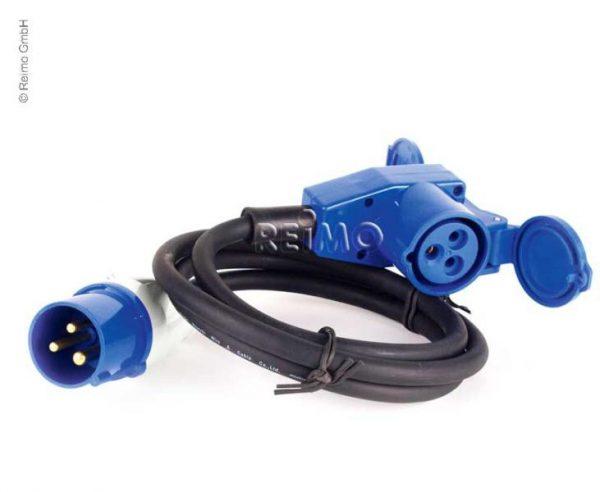 Cable de conexión CEE con enchufe CEE y conector en ángulo CEE, 25m 1