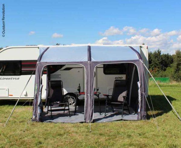 Avance ligero Caravana hinchable Teilzelt E-Sport Air 325 XL 4