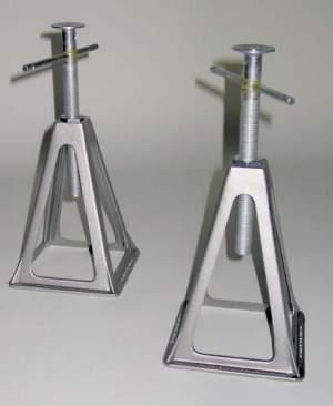 Marco de soporte de caravana de aluminio 4 piezas 1