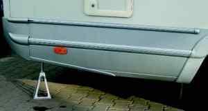 Marco de soporte de caravana de aluminio 4 piezas 3
