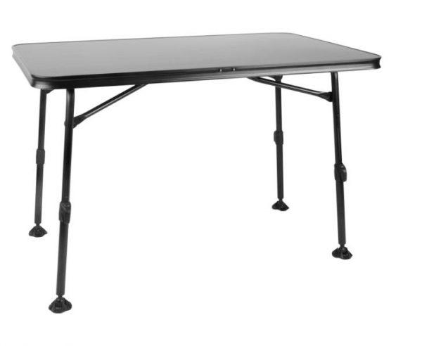 Mesa de camping CALAIS 115x70x55-74cm,marco:negro,tablero:antracita 4