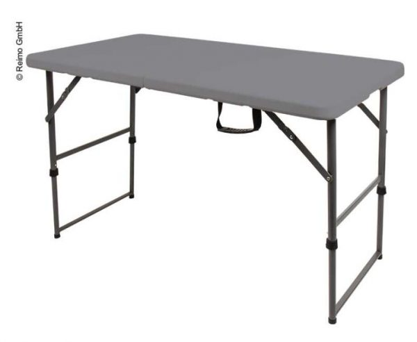 Mesa plegable Easy IL: 122xB: 61cm en gris 1