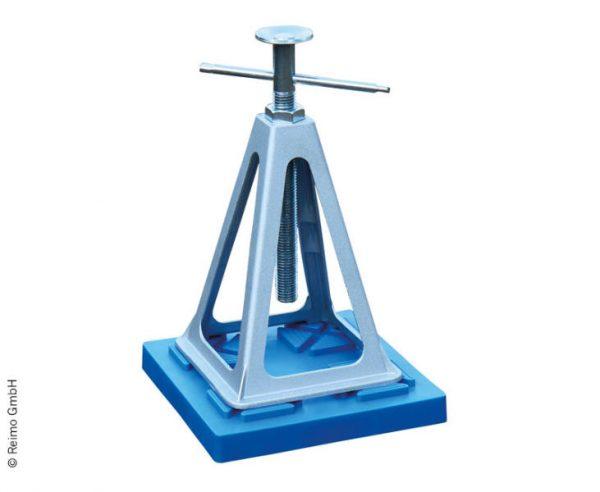 Placas de soporte para el ajuste de altura para marcos de soporte pie 2