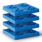 Placas de soporte para el ajuste de altura para marcos de soporte pie 5