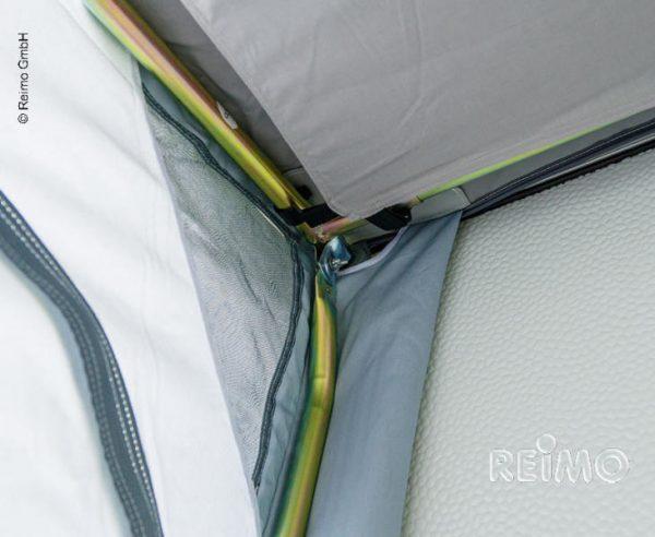 Avance de invierno Cortina 2 f. Caravanas,barras de acero,B220xT180xH23 3