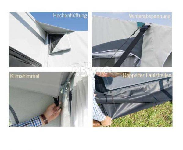 Avance Invierno Casa Royal S 320 T230xB320xH235-255cm estructura de acero 2