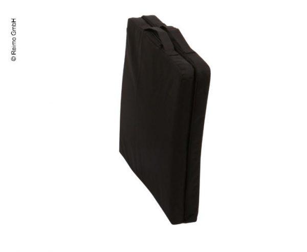 almohadilla del asiento con calefacción, 40x40 cm, negro, incluye batería + cargador 2