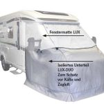 Alfombrilla térmica de Lux & amp amp capo y puertas inferior LuxDuo y tapete de ventana 2