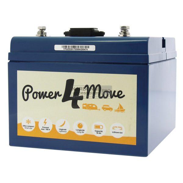Batería de litio Inovtech Power4Move 18 Ah 1