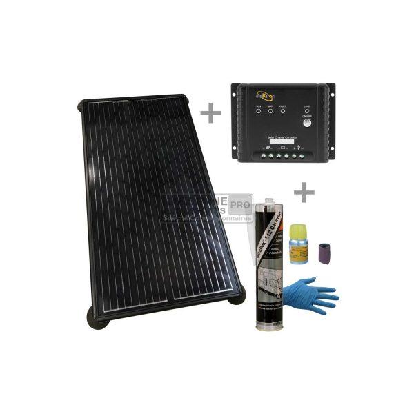 WING 190W PACK Solar + Regulador MPPT + Kit de pegamento 1