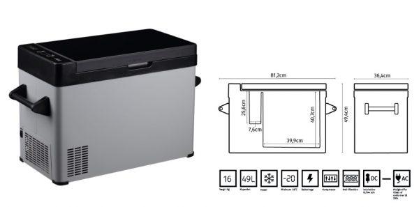 Refrigerador con compresor FMT Fridge Q55 1