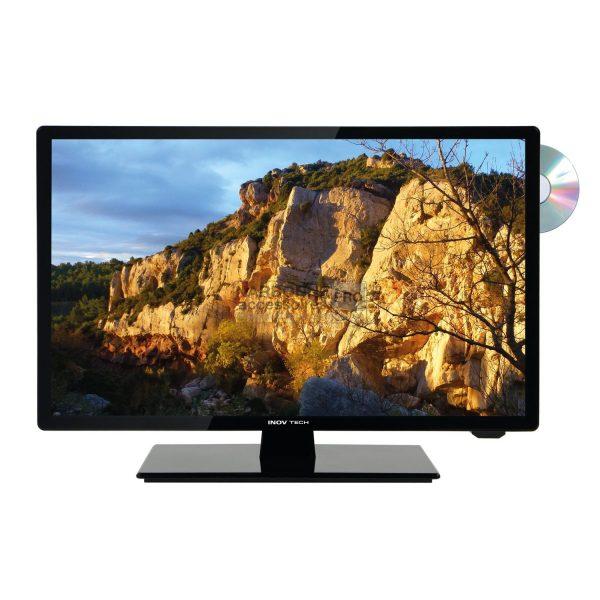 Televisor LED HD ultracompacto de 21,5 '' (55 cm) + DVD Inovtech 1