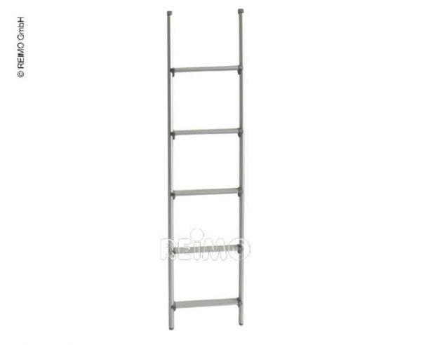 Escalera de aluminio de 5 escalones de 130cm de largo y 28cm de ancho 1