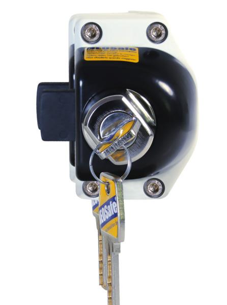 Cerradura de puerta Renault de 2000 con cerradura 1