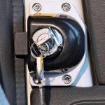 Cerradura de puerta Ford 2000-06 bloqueable 2