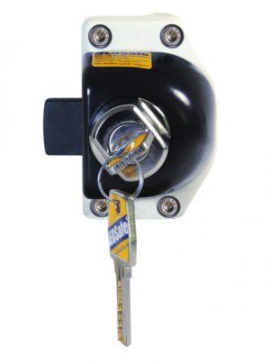 Puerta de seguridad HEOSafe con cerradura para Mercedes Sprinter VW Crafter desde 2006 2